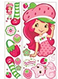 RoomMates RMK1377GM Strawberry Shortcake Scratch 'n' Sniff Peel & Stick Giant Wall Decal