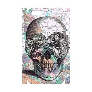 Cool Painting Skull Customized 3D Cover Case for Iphone 5,5S,custom phone case case557747 wangjiang maoyi