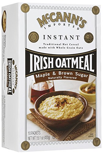 McCann's Instant Irish Oatmeal - Maple Brown Sugar - 15.1 oz - 10 ct