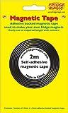 2 m de largo, cinta adhesiva magnética, 10 mm x 1,5 mm de grosor (adhesivo fabricado por 3 m)