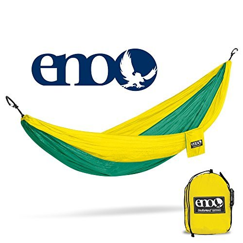 Eagles Nest Outfitters ENO DoubleNest Hammock, Portable Hammock for Two, ()