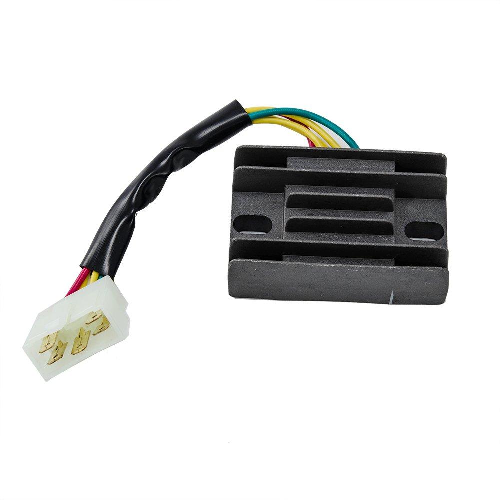 Amazon com voltage regulator rectifier suzuki lt f 4wdx king quad 1991 1992 1993 1994 1995 1996 1997 1998 automotive