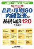 これだけは知っておきたい完全図解品質&環境ISO内部監査の基礎知識120