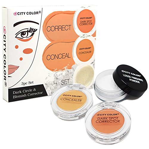 CITY COLOR Concealer, Contour & Highlighter Set (Correct & Conceal 3 pc Set)