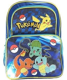 New Pokemon Cargo 16 School Backpack