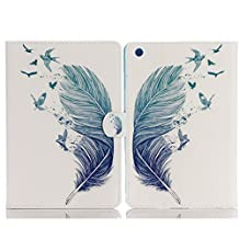 iPad Case For iPad Air 2,TechCode Screen Protective Luxury Folio Case Stand with Card Slots Smart Case Cover for Apple iPad Air 2 9.7 inch Tablet(iPad Air 2, A10)