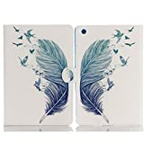 Tablet Case iPad Air Cover,TechCode Screen Protective Luxury Folio Case Stand with Card Slots Smart Case Cover for Apple iPad Air 9.7 inch (iPad Air, A10)