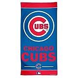 "MLB Chicago Cubs Fiber Beach Towel, 30 x 60"", Multicolor"