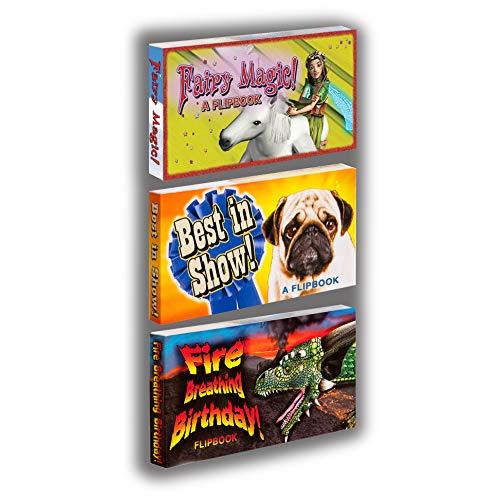 - Fliptomania Greeting Cards Flipbooks 3-Pack