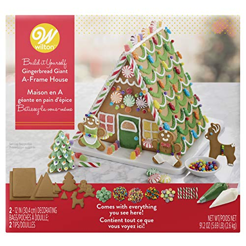 - Wilton Ready-to-Decorate Gingerbread Giant A-Frame House