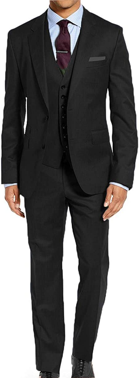 Falcone Mens Big /& Tall 64 66 68 70 72 3 Pc Dress Suit