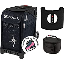Zuca Ice Queen Sport Insert Bag & Black Frame w. Gift Lunchbox and Seat Cushion