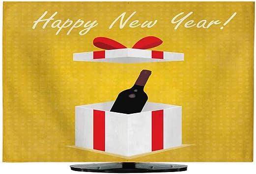 Cubierta Antipolvo de Encaje con Texto Happy New Year Translation ...