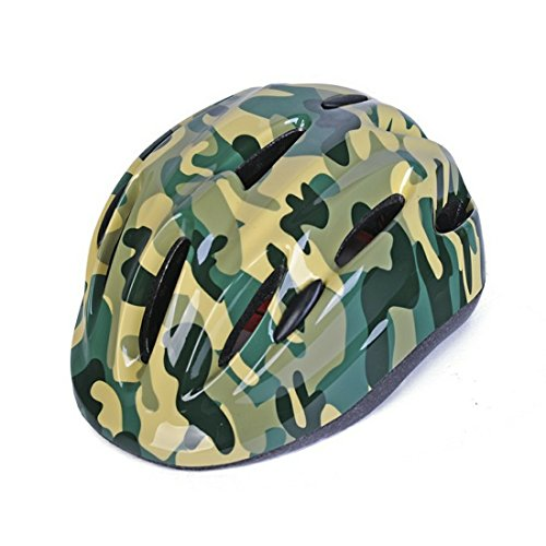 New Camouflage Design Small Kids Girl Boy Toddler Children Street Road City Cycling Cycle Bike Helmets Light Hear Protective Gear Child Outdoor Yard Light Safety Helmets for Age 3-7