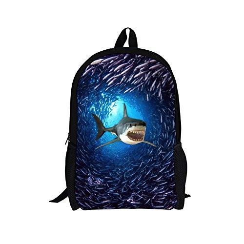 shark back packs - 3