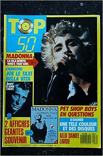 Amazon Fr Top 50 080 N 80 Madonna Johnny Hallyday Pet