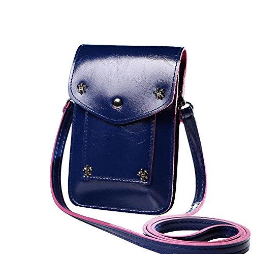02 Bandoulière Feixiang Sac Blue Femme Pour Rw0w5X