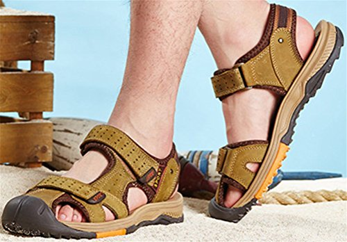 Mens Athletic Sandal Outdoor Sport Sandal Khaki o7pRE2Rhs