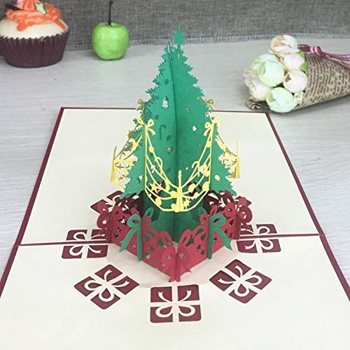 1pcs 3D Pop Up Greeting Cards With Envelope Laser Cut Post Card For Birthday Christmas Valentine' Day Party Wedding Decoration -