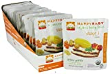 HappyBaby - Organic Baby Food Stage 3 Meals Ages 7+ Months Gobble Gobble - 4 oz. (Pack of 3)