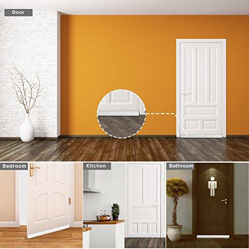 Baining Door Draft Stopper Door Sweep For Exteriorinterior Doors