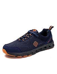 Dream Pairs 160712-M Men's Summer Mesh Light Weight Flexible Athletic Easy Walking Slip On Sport Water Swim Shoes