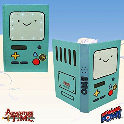 Adventure Time Bmo Light Up Journal