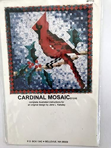 Cardinal Mosaic – A Kakaley Quilt Pattern