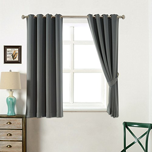 Blackout Curtains blackout curtains 63 : Amazon.com: AMAZLINEN Sleep Well Curtains Blackout Toxic Free ...