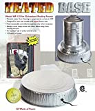 Farm Innovators Model HP-125 Heated Base For Metal