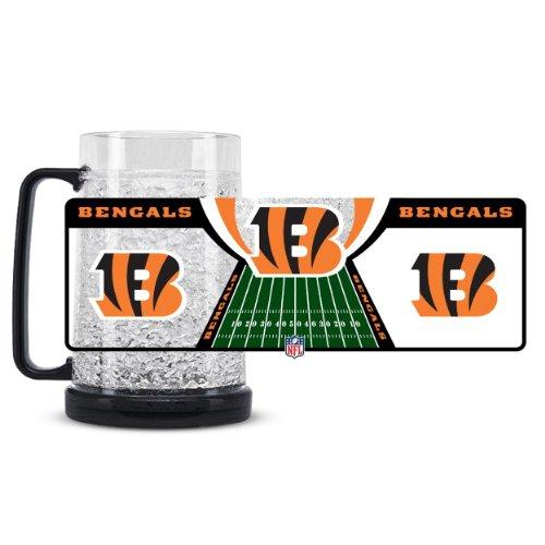 Cincinnati Bengals 16oz Crystal Freezer Mug (Mug Freezer Cardinals)