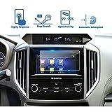 #6: LFOTPP 2018 Subaru Crosstrek Impreza Starlink 6.5 Inch Car Navigation Screen Protector, [9H] Tempered Glass Infotainment Center Touch Display Screen Protector Anti Scratch High Clarity