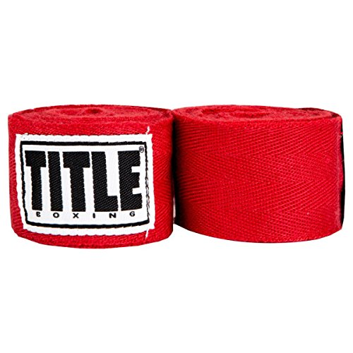 TITLE Boxing Traditional Weave Hand Wraps (Single Pair)