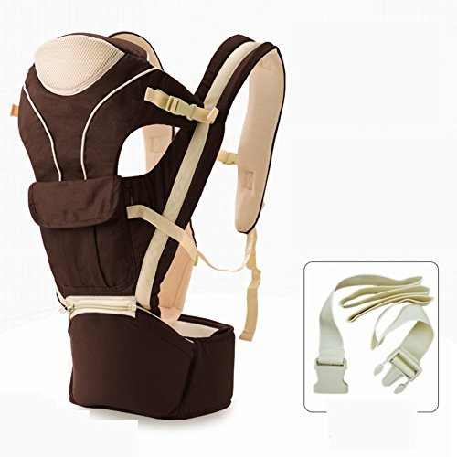 Baby carrier,All-in-one Multi-position Baby carrier for infants and toddlers Waist stool Front-hold Full seasons Baby carrier original Adjustable-C by LTSGSBB