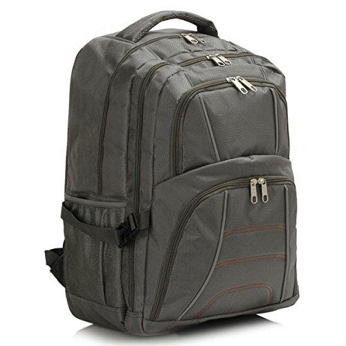 Xardi London - Bolso mochila  de Material Sintético para mujer large gris