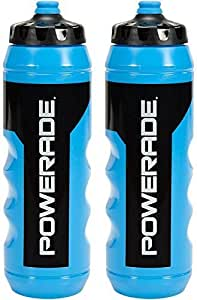 Powerade Squeeze Water Bottle 32oz (2 pack) by Powerade: Amazon.es ...