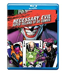 Necessary Evil: Super-Villains of DC Comics [Blu-ray]