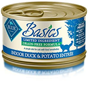 Blue Buffalo Basics Pate Limited Ingredient Wet Cat Food