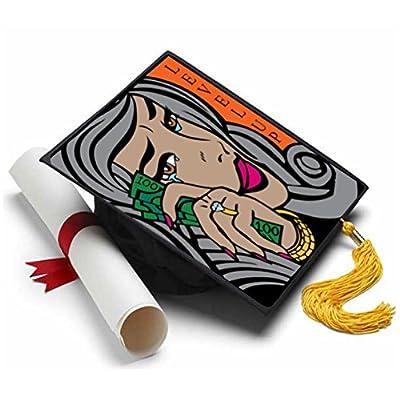 Tassel Toppers Fabolous Grad Cap Decorations for Grad Cap: Home & Kitchen