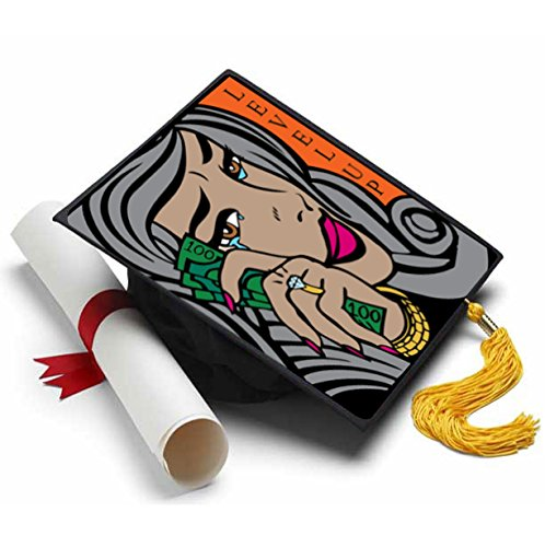 Tassel Toppers Fabolous Grad Cap Decorations for Grad Cap]()