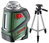 Bosch GLL 2-20 360-Degree Self-Leveling Line and Cross Laser (With Tripod Combo)
