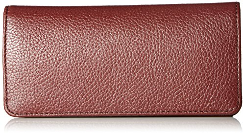 Recruit Open Face Wallet Wallet, CHIANTI, One Size