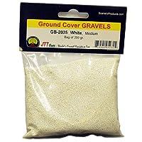 JTT Scenery Products Ballast and Gravel, White, Medium