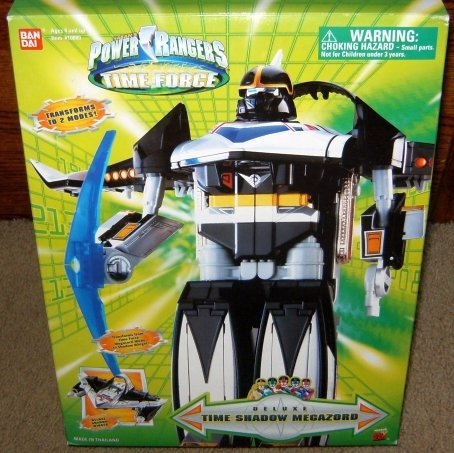 Power Rangers Time Force Time Shadow Megazord Deluxe Action Figure (Mighty Morphin Power Rangers Zords)