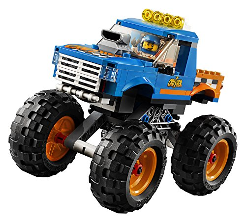 LEGO-City-Great-Vehicles-Monster-Truck-60180-Building-Kit-192-Piece