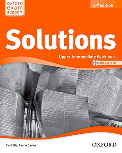 Solutions Upper Intermediate Workbook & Cd Pack 2ª Edición