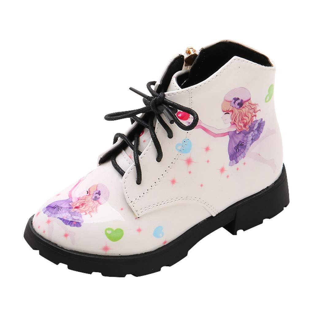 Ansenesna Chaussures Mixte Enfant No/ël Lacet Bottes De Neige Peluche Pantoufle Douces Chaud Anti-d/érapantes Plat Cuir Verni B/éB/é Fille Gar/çon Chaussons