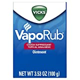 Vicks VapoRub Original Cough Suppressant Topical