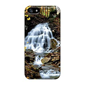 Awesome Design Forest Water Stream Hard Cases Covers For Iphone 5/5s