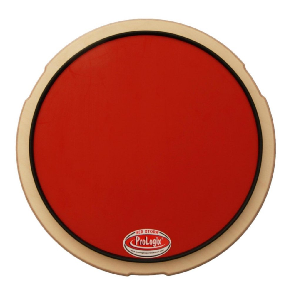 Prologix Percussion Red Storm Practice Pad - 10''